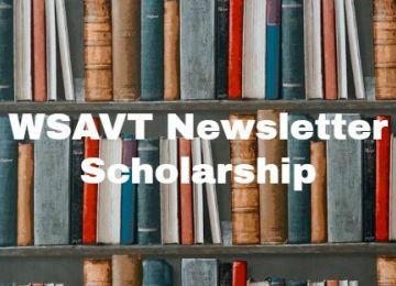 Washington State Veterinary Technician Association Newsletter Article Scholarship